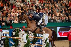 TWOMEY Billy (IRL), Kimba Flameco<br /> Leipzig - Partner Pferd 2019<br /> Longines FEI Jumping World Cup<br /> Sparkassen-Cup - Grosser Preis von Leipzig<br /> 20. Januar 2019<br /> © www.sportfotos-lafrentz.de/Stefan Lafrentz