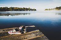 Ampersand Bay Resort, Saranca Lake, New York.