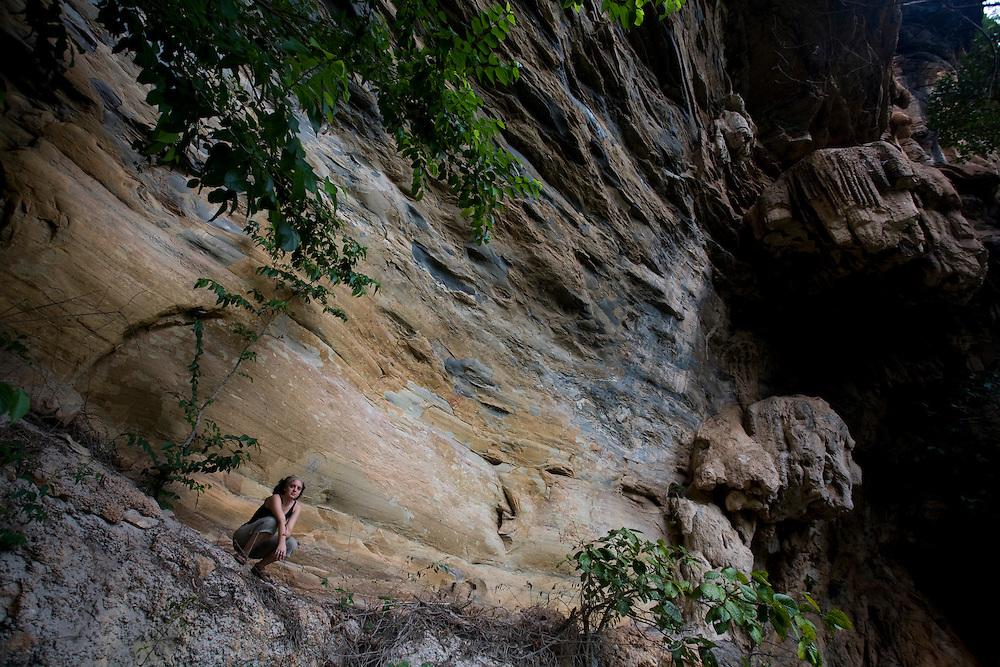 Santana do Riacho_MG, Brasil...Lapa da Sucupira no Parque Nacional da Serra do Cipo...The Lapa da Sucupira at Serra do Cipo National Park...Foto: LEO DRUMOND /  NITRO