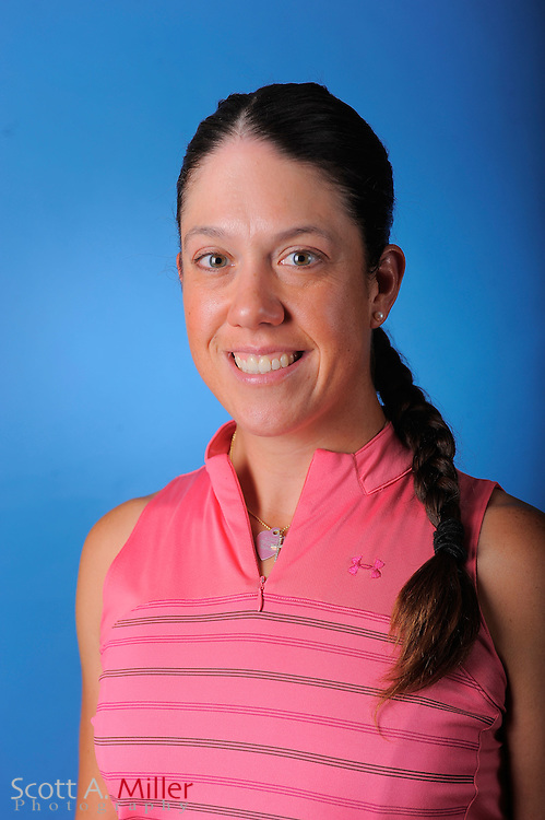 Izzy Beisiegel during a portrait session prior to the second stage of LPGA Qualifying School at the Plantation Golf and Country Club on Sept. 24, 2011 in Venice, FL...©2011 Scott A. Miller