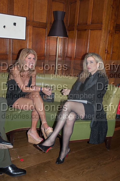 SIGAL HILLEL; SHOSHANA DADUN, Rocco Forte's Brown's Hotel Hosts 175th Anniversary Party, Browns Hotel. Albermarle St. London. 16 May 2013