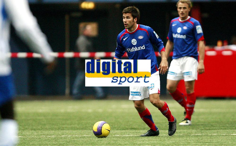 Fotball<br /> Treningskamp<br /> Tippeligaen<br /> Vallhall<br /> 08.02.08<br /> V&aring;lerenga VIF - Nybergsund IL - Trysil<br /> Lars Iver Strand - Bengt S&aelig;ternes<br /> Foto - Kasper Wikestad