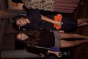 ASHLEY MADEKWE; GRACE WOODWARD, Aldo launch. One Marylebone Rd. London. 21 June 2011<br /> <br />  , -DO NOT ARCHIVE-© Copyright Photograph by Dafydd Jones. 248 Clapham Rd. London SW9 0PZ. Tel 0207 820 0771. www.dafjones.com.