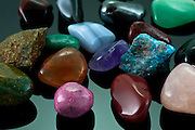 A collection of different Semiprecious Gemstones