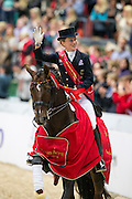 Helen Langehanenberg - Damon Hill NRW<br /> Reem Acra FEI World Cup Final 2013<br /> © DigiShots