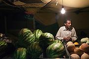 Fruit market in Zintan center city