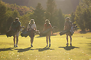 foursome golfing at Park City Golf Course
