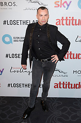 Louie Spence attends the Attitude Pride Awards 2016 at The Grand At Trafalgar Square, central London. Monday October 10, 2016. Photo credit should read: Isabel Infantes / EMPICS Entertainment.