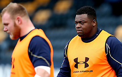 Biyi Alo of Worcester Warriors - Mandatory by-line: Robbie Stephenson/JMP - 28/01/2017 - RUGBY - Sixways Stadium - Worcester, England - Worcester Warriors v Harlequins - Anglo Welsh Cup