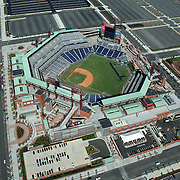 Aerial view of Philadelphia Sports Venues, Citizens Bank Park home of the philadelphia phillies