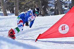 Europa Cup Finals Banked Slalom, LUCHINI Jacopo, ITA at the 2016 IPC Snowboard Europa Cup Finals and World Cup