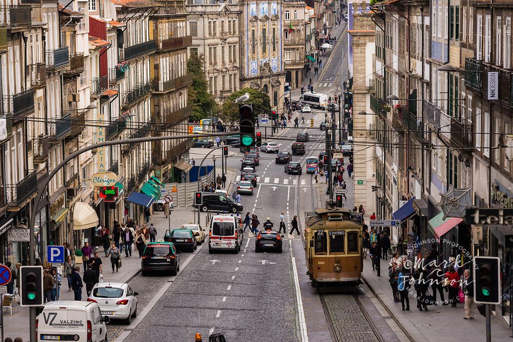 Rua dos Clerigos, Porto, Portugal