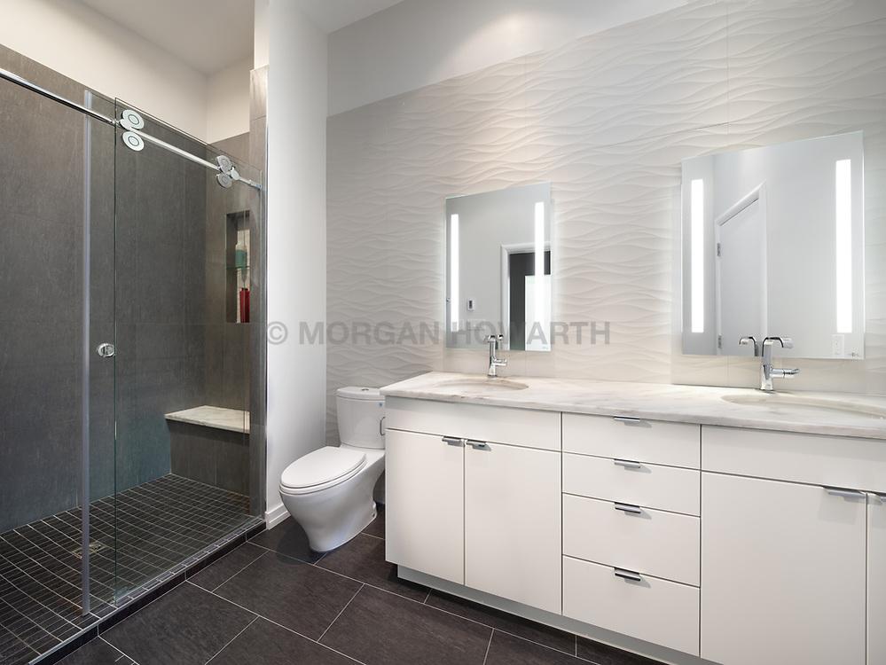 3553 Nellie Curtis Modern Home master bathroom