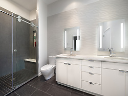 3553 Nellie Curtis Modern Home master bathroom