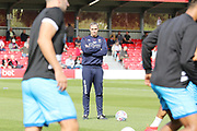 Michael Duff  during the EFL Sky Bet League 2 match between Salford City and Cheltenham Town at Moor Lane, Salford, United Kingdom on 14 September 2019.