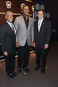 New York, NY-October 19:  Rev. Al Sharpton, Actor/Producer Tyler Perry, and New York Governor Andrew Cuomo at the 2nd Annual National Action Network's Triumph Awards in the Arts, Entertainment & Sports held at Jazz at Lincoln Center on October 19, 2011 in New York City. Photo Credit: Terrence Jennings