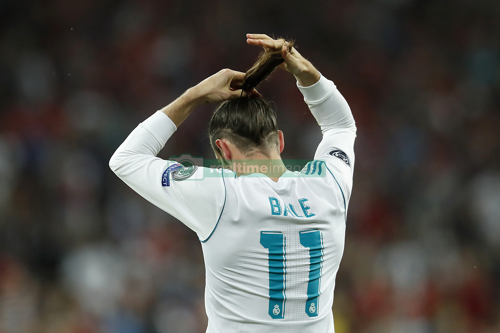 Gareth Bale of Real Madrid during the UEFA Champions League final between Real Madrid and Liverpool on May 26, 2018 at NSC Olimpiyskiy Stadium in Kyiv, Ukraine