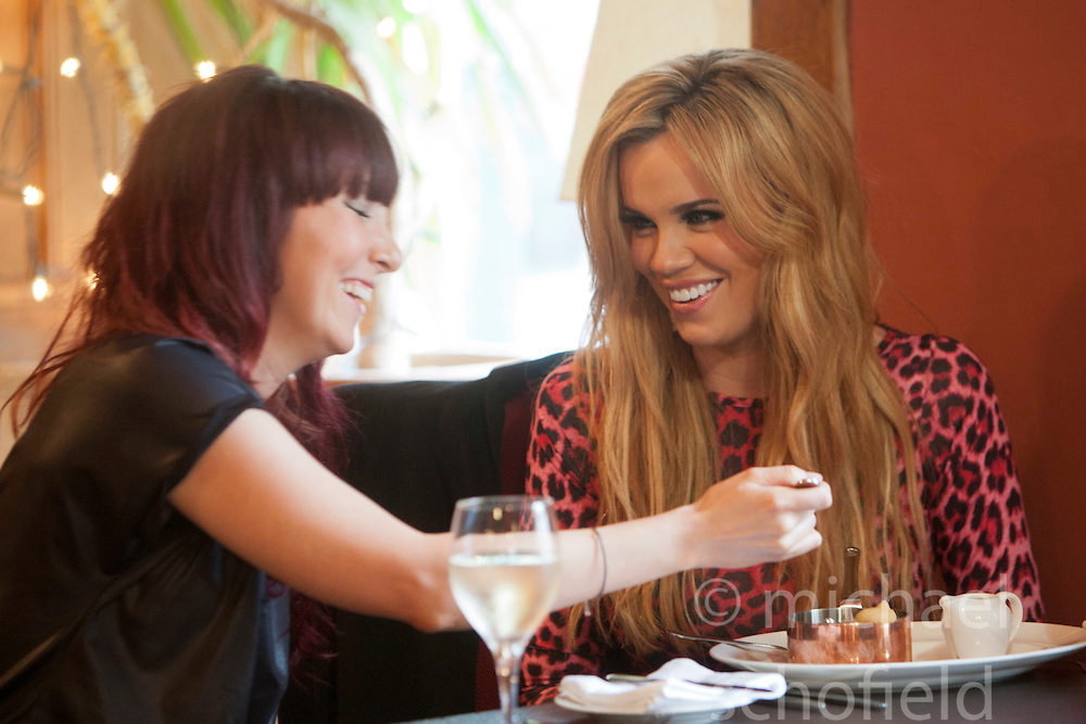"Maria in Let's Eat Restaurant..Filming of ""Ma Way"", Maria Fowler""s guide to Perth..© Michael Schofield."