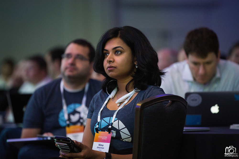 The Linux Foundation hosts its MesosCon North America summit at Hyatt Regency Denver Tech Center in Denver, Colorado, on June 2, 2016. (Stan Olszewski/SOSKIphoto)