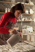 Handmade ceramic workshop in Cieszyn Poland photos by Piotr Gesicki
