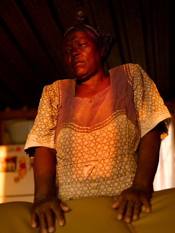 "Mmete Teresa Mathambo had two brothers in the MK and went into exile with them in 1970.  She lived in the training camps in Zambia and Tanzania looking after many of the children there.  ""I was like a mother to many of the children in exile. Many parents would leave there families with me so they could go back and fight"""