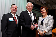 The Manhattan Chamber of Commerce's 2011 Small Business Awards Breakfast was held on November 3, 2011 at ConEd in New York. The Manhattan Chamber of Commerce Business Awards Breakfast sponsored by Wells Fargo is the business event of the year in NYC. This year the MCC recognized these stellar honorees: New Yorker of the Year: Jonathan Tisch; Cultural Achievement of the Year: Daryl Roth and Jordan Roth; Small Business of the Year: Heidelberg Restaurant & Schaller & Weber; Mid-Sized Business of the Year: Anchin, Block & Anchin; Large Business of the Year: Gilt Groupe; Global Business of the Year: Signature Fencing & Flooring Systems, LLC; Restaurant & Hospitality of the Year: Fourth Wall Restaurants; Retailer of the Year: Crumbs Bakery; Green Business of the Year: GustOrganics Restaurant; Young Professionals Award: foursquare; Guest presenters will include Tim Zagat, NYC Council Speaker Christine Quinn, Jill Kaplan and Joan Hamburg.
