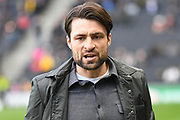 Milton Keynes Dons manager Russell Martin during the EFL Sky Bet League 1 match between Milton Keynes Dons and Wycombe Wanderers at stadium:mk, Milton Keynes, England on 1 February 2020.
