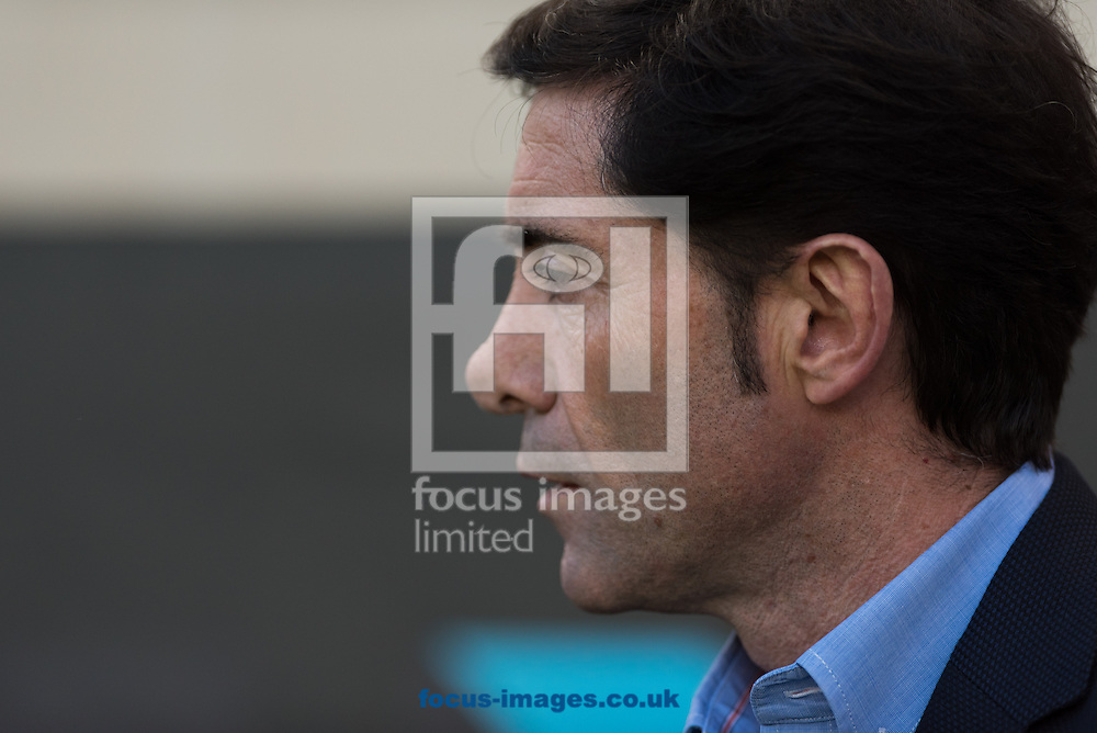 Marcelino Garcia Toral, head coach of Villarreal CF  during the La Liga match at Estadio El Madrigal, Villarreal<br /> Picture by Maria Jose Segovia/Focus Images Ltd +34 660052291<br /> 24/04/2016
