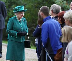 SEP 14 2014 The Queen at Balmoral