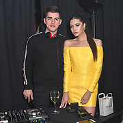 Dj Sergey Mironov,Anastasiya Vinikovska and Choreographer for the Grand Final MISS USSR UK 2019 at Hilton Hotel Park Lane on 27 April 2019, London, UK.