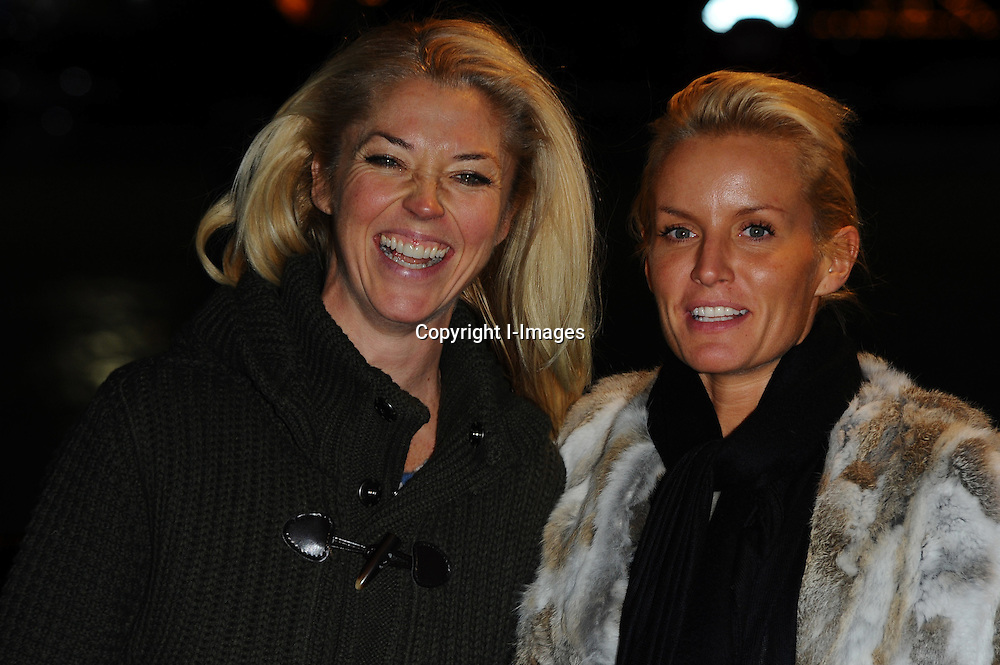 Tamara Beckwith & Davina Taylor at the Winter Wonderland as it returns to Hyde Park for the 5th year running it has attracted over 8 million visitors since its launch in 2006. Thursday November 17, 2011. Photo By i-images