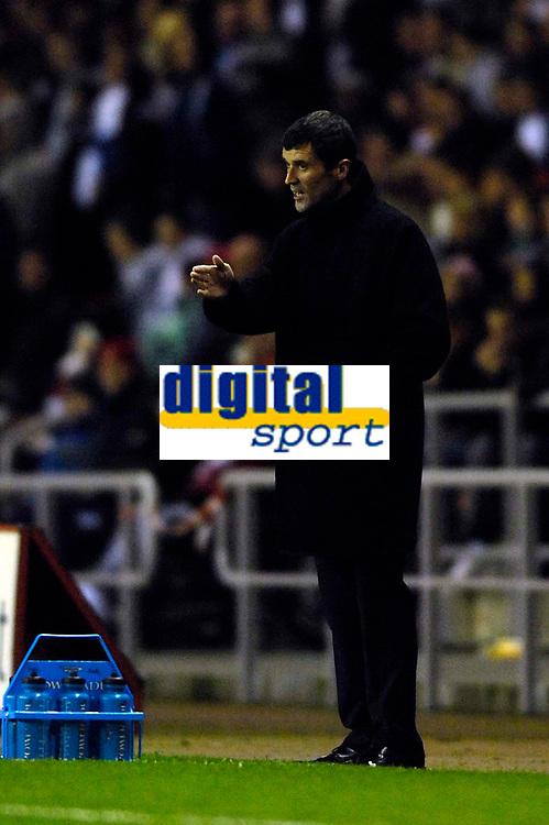 Photo: Jed Wee.<br /> Sunderland v Cardiff City. Coca Cola Championship. 31/10/2006.<br /> <br /> Sunderland manager Roy Keane.