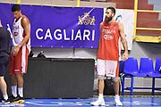 Simone Fontecchio, Luigi Datome<br /> Raduno Nazionale Maschile Senior<br /> Allenamento mattina<br /> Cagliari, 04/08/2017<br /> Foto Ciamillo-Castoria/ A. Scaroni