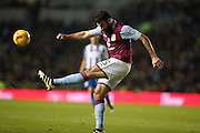 Aston Villa midfielder Mile Jedinak (25) clears the ball during Brighton and Hove Albion and Aston Villa at the American Express Community Stadium, Brighton and Hove, England on 18 November 2016.