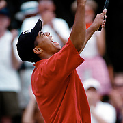 Tiger woods wins his third  U.S. Amateur Golf Championship at Pumpkin Ridge Golf Club  then goes pro on August 25, 1996 in North Plains, Oregon