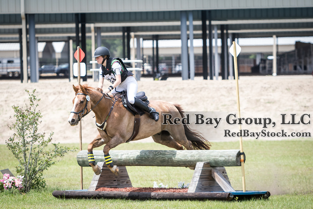 Lauren Brooks and Spartacus at the Ocala International in Ocala, Florida.