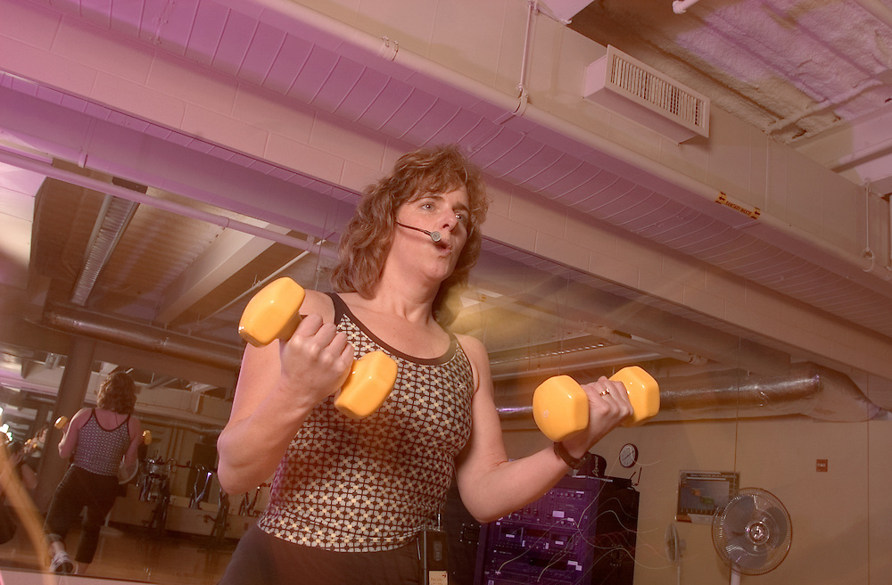 16921Wellworks: Yoga class / Spinning Class / Nutrition:Classroom ..Darlene BerrymanTeaching Aerobics Class