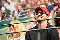 Zlatan IBRAHIMOVIC / Helena SEGER   - 28.05.2015 - Jour 5 - Roland Garros 2015<br />Photo : Dave Winter /  Icon Sport