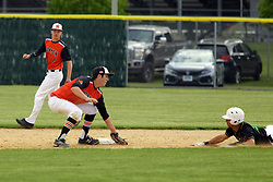 10 May 2019:  11 & 12 UHigh Pioneers at Normal Community Ironmen at NCHS baseball diamond in Normal Il<br /> <br /> (Photo by Alan Look)