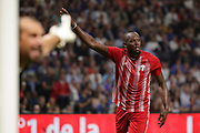 Usain Bolt (FIFA 98), Lionel Charbonnier (France 98) during the 2018 Friendly Game football match between France 98 and FIFA 98 on June 12, 2018 at U Arena in Nanterre near Paris, France - Photo Stephane Allaman / ProSportsImages / DPPI