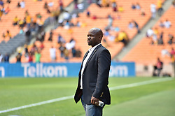 Kaizer Chiefs head coach Stephen Komphela during the ABSA premiership at FNB stadium <br />