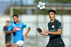 November 1, 2017 - Naples, Italy - Nail Touaizi Zoubdi of Manchester City during the UEFA Youth League Group F match between SSC Napoli and Manchester City on November 1, 2017 in Naples, Italy. (Credit Image: © Matteo Ciambelli/NurPhoto via ZUMA Press)