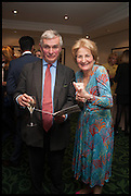 FRANCIS FULFORD; SOPHIE STORMONTH, The hon Alexandra Foley hosts drinks to introduce ' Lady Foley Grand Tour' with special guest Julian Fellowes. the Sloane Club. Lower Sloane st. London. 14 May 2014