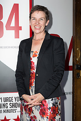 © Licensed to London News Pictures. 18/06/2015. London, UK. Mary Creagh arrives at the press night for 1984 at the Playhouse Theatre, Northumberland Avenue in London tonight. Photo credit : Vickie Flores/LNP