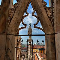 Milan The Duomo - Italy in HDR..Marco Secchi.e-mail ms@msecchi.com .www.marcosecchi.com