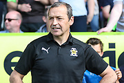 Cambridge United manager Colin Calderwood during the EFL Sky Bet League 2 match between Forest Green Rovers and Cambridge United at the New Lawn, Forest Green, United Kingdom on 22 April 2019.