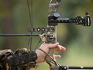 Photo Randy Vanderveen, .Grande Prairie, Alberta.An archer draws back his bow.