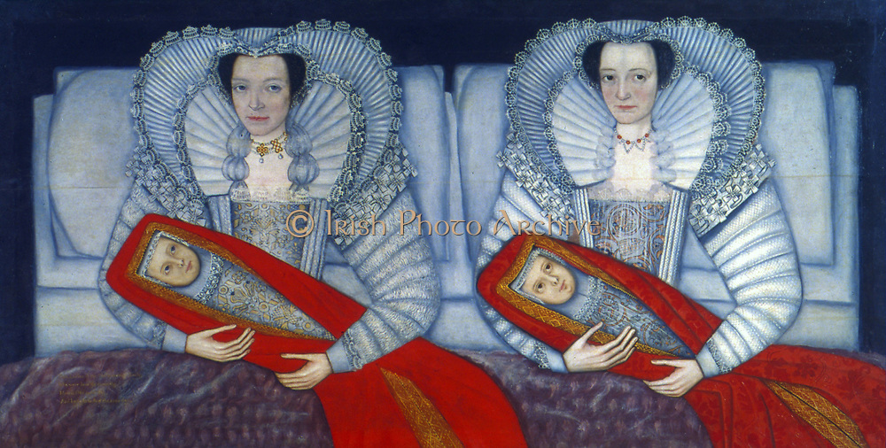 The Cholmondeley Sisters' (1600-1610).English School 17th century.