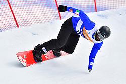 POZZERLE Manuel, SB-UL, ITA, Banked Slalom at the WPSB_2019 Para Snowboard World Cup, La Molina, Spain