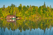 Cottage on Snake Island Lake (Cassels Lake)<br />